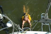 3. zwemmen op zee