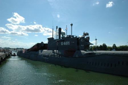 Peenemunde onderzeeër U 461
