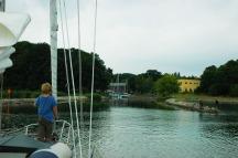 Stralsund verborgen havenmonding Däneholm