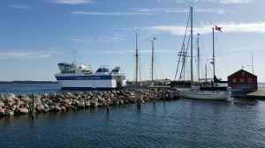 Veerboot naar Faaborg